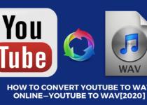 convert youtube to wav